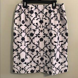 Talbots stretch skirt size 8